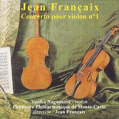 Jean Français - Concerto pour violon n°1 - Yuriko NAGANUMA